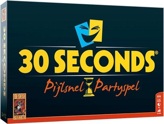 30 Seconds het pijlsnelle party spel.