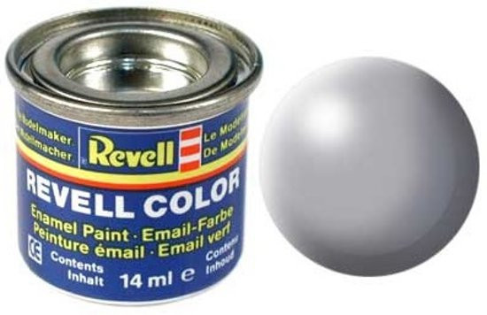 Revell verf voor modelbouw zijdemat grijs nummer 374