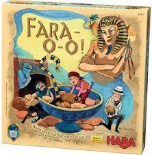 Haba Fara-o-o spel, een spannend behendigheids spel.