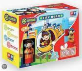 City Hero bouwsysteem met figuur.