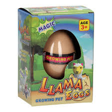 Groei Lama eieren groeiende dieren.