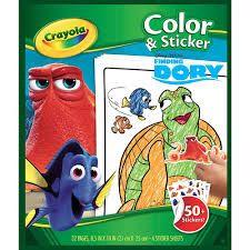 Finding Dory Kleurboek & Sticker