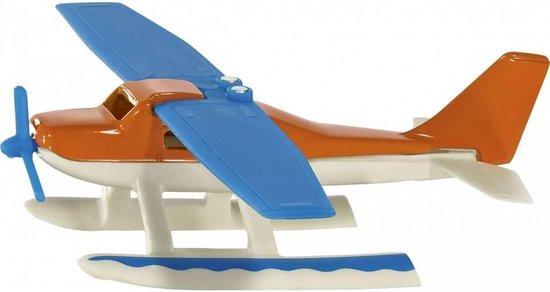 Siku watervliegtuig van metaal en plastic.