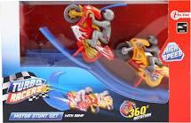 Motor stunt set turbo racers
