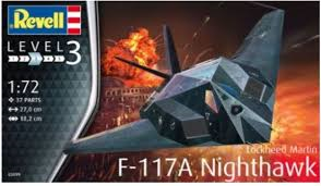 Revell lockheed martin F-117a Nighthawk.