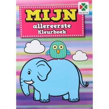 Mijn Allereerste Dikke Kleurboek