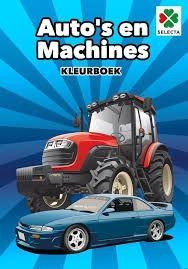 Auto's en Machines Kleurboek