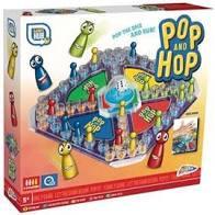 Pop en hop het bekende erger spel.