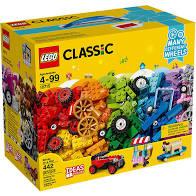 Lego classic stenen en wielen doos. 10715