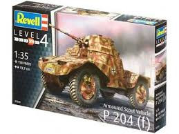 Revell voertuig Armoured Scout Vehicle P 204 (f) 03259