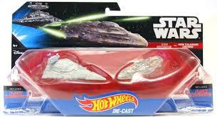 Star Wars Star Destroyer vs Mon Calamari Cruiser Hot Wheels