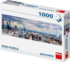 Blik op London - Panorama Puzzel