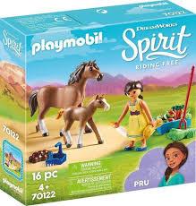PLAYMOBIL Spirit Pru met Paard en Veulen