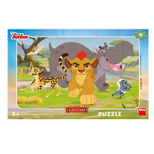 Dino Frame Puzzel The Lion Guard 15 stukjes