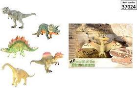 World of dinosaurs dinosaurus. assorti.