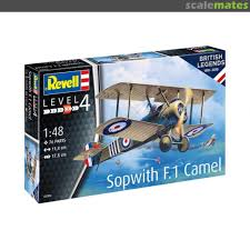 Revell bouwpakket Sopwith f.1 Camel.