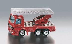 Siku brandweer ladderwagen.