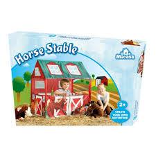 Speelhuisje paarden stal. 95x72x102 cm.
