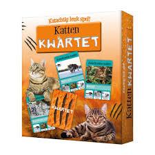 Katten kwartet.een katachtig leuk spel.