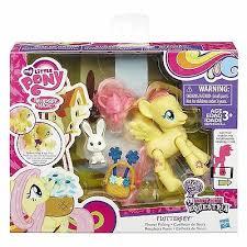 Hasbro little pony beweegbare Fluttershy.