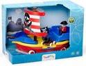 Viking toys piraten schip met wieltjes.