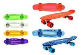 Toi Toys Skateboard met licht 55cm (incl. USB naar micro USB snoer) tot 50 kg