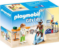Playmobil praktijk fysiotherapeut..