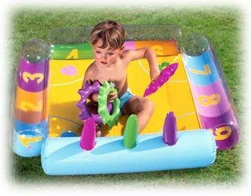 Baby Gym Opblaasbaar 75-75 cm