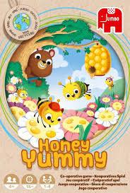 Jumbo honey yummy spel, een coöperatief spel.